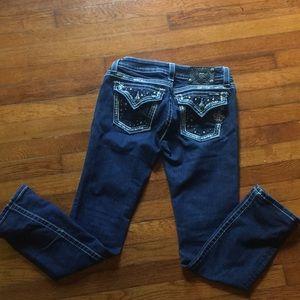 Size 27 Skinny Miss Me Jeans